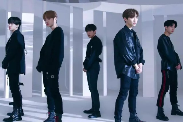"""Watch: AB6IX Announces Debut Date With """"Hollywood"""" Performance MV"""