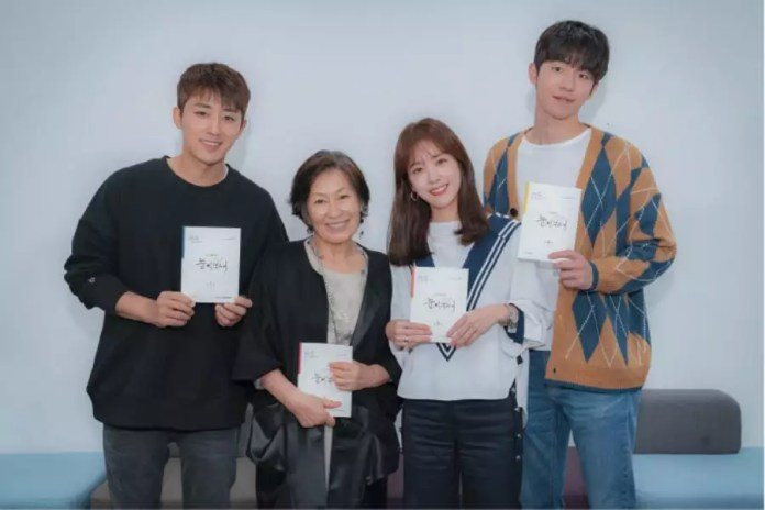 Han Ji Min, Nam Joo Hyuk, Son Ho Jun, And More Gather For First Script Reading Of New JTBC Drama