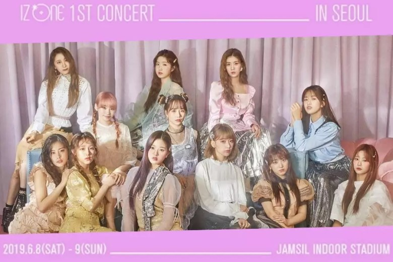 IZ*ONE Announces First Solo Concert In Korea