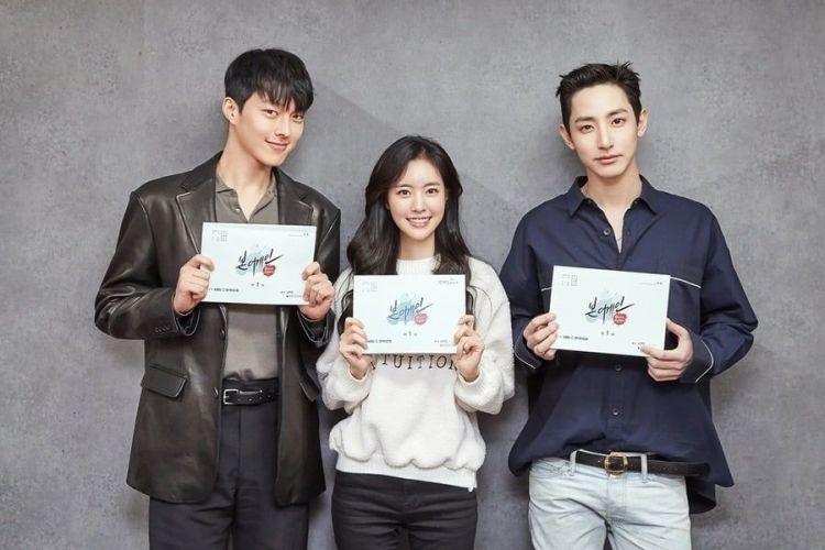 Jang Ki Yong, Jin Se Yeon, Lee Soo Hyuk, And More Gather For Script Reading Of Upcoming Drama