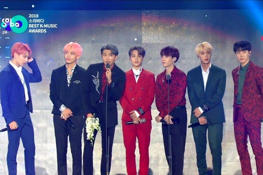 Image result for Winners Of 2018 Soribada Best K-Music Awards