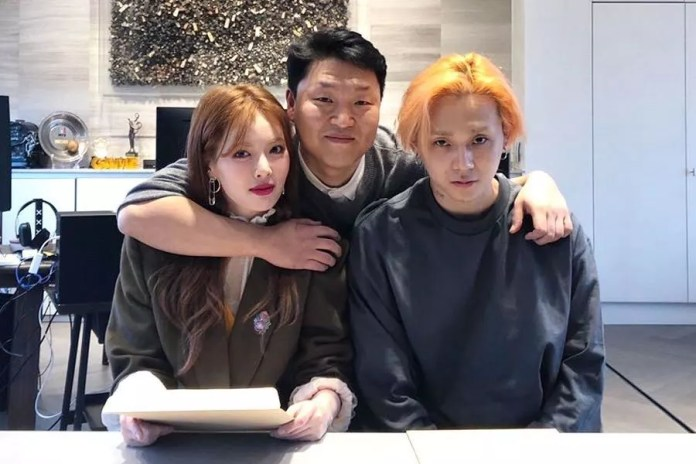 Image result for hyuna edawn p nation