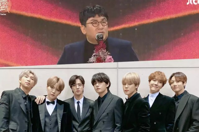 BTS Wins Grand Prize At The 34th Golden Disc Awards Day 1