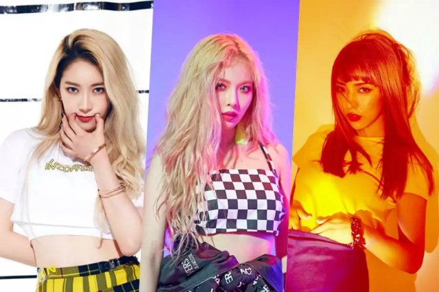 """Watch: PRISTIN's Rena Shares Fierce Covers Of HyunA's """"Lip & Hip"""" And Luna's """"Free Somebody"""""""