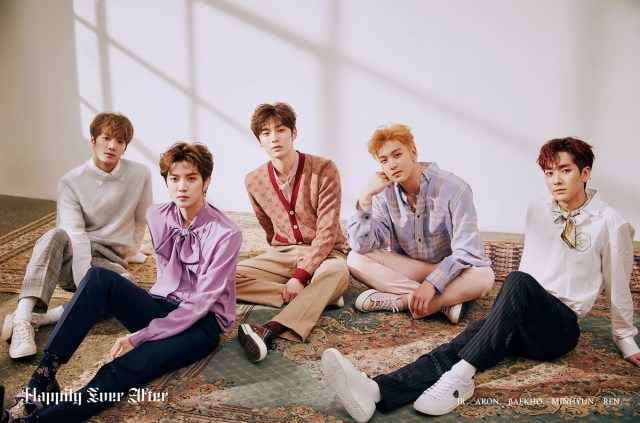 "Update: NU'EST Shares Song Previews For Upcoming Mini Album ""Happily Ever After"""