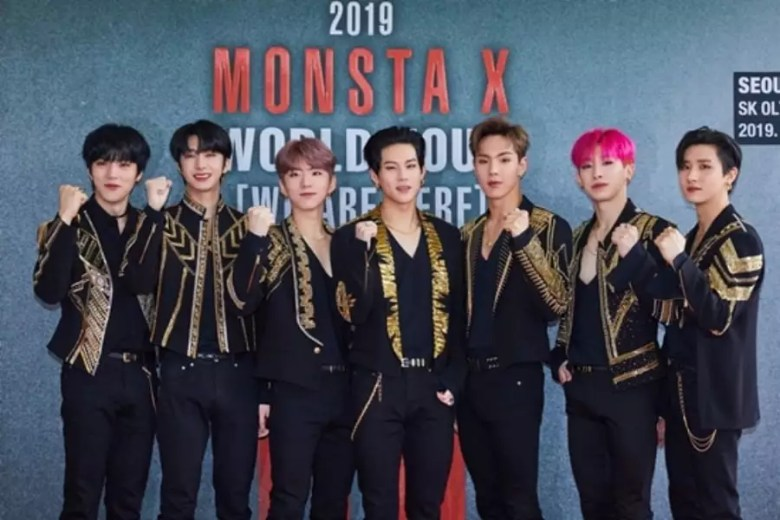 "MONSTA X To Live Stream Their ""We Are Here"" World Tour Performance In L.A."