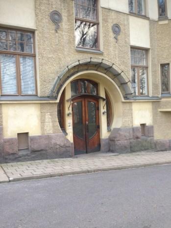 Jugend architecture in Turku