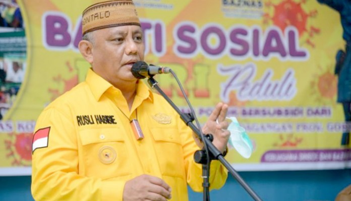 Gubernur Gorontalo, Rusli Habibie