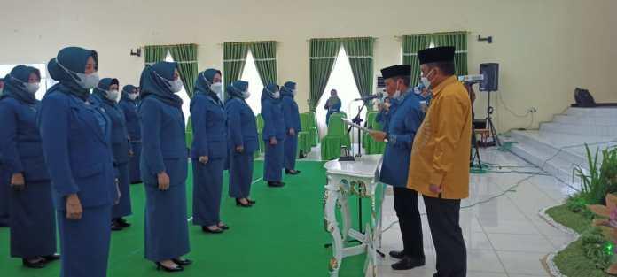 Fory Naway Kembali Nahkodai Ketua TP-PKK Kabupaten Gorontalo