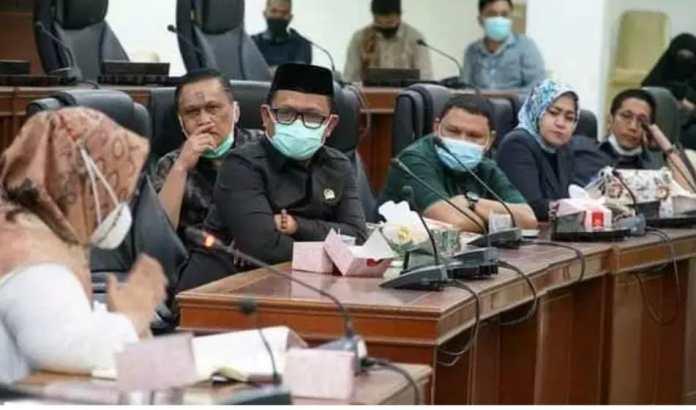 DPRD Kota Gorontalo Beberkan Sisa Anggaran Pembangunan Pasar SentralDPRD Kota Gorontalo Beberkan Sisa Anggaran Pembangunan Pasar Sentral