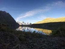 Lac du Goléon au matin