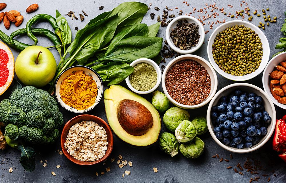 Alimentos veganos 60mais