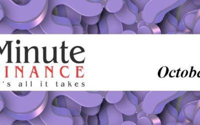 60 Minute Finance Q & A – 10/27/16