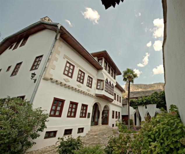 The home of the family Muslibegovic is centuries old and a hotel with a small museum nowadays.