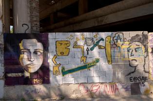 Streetart in Mostar: