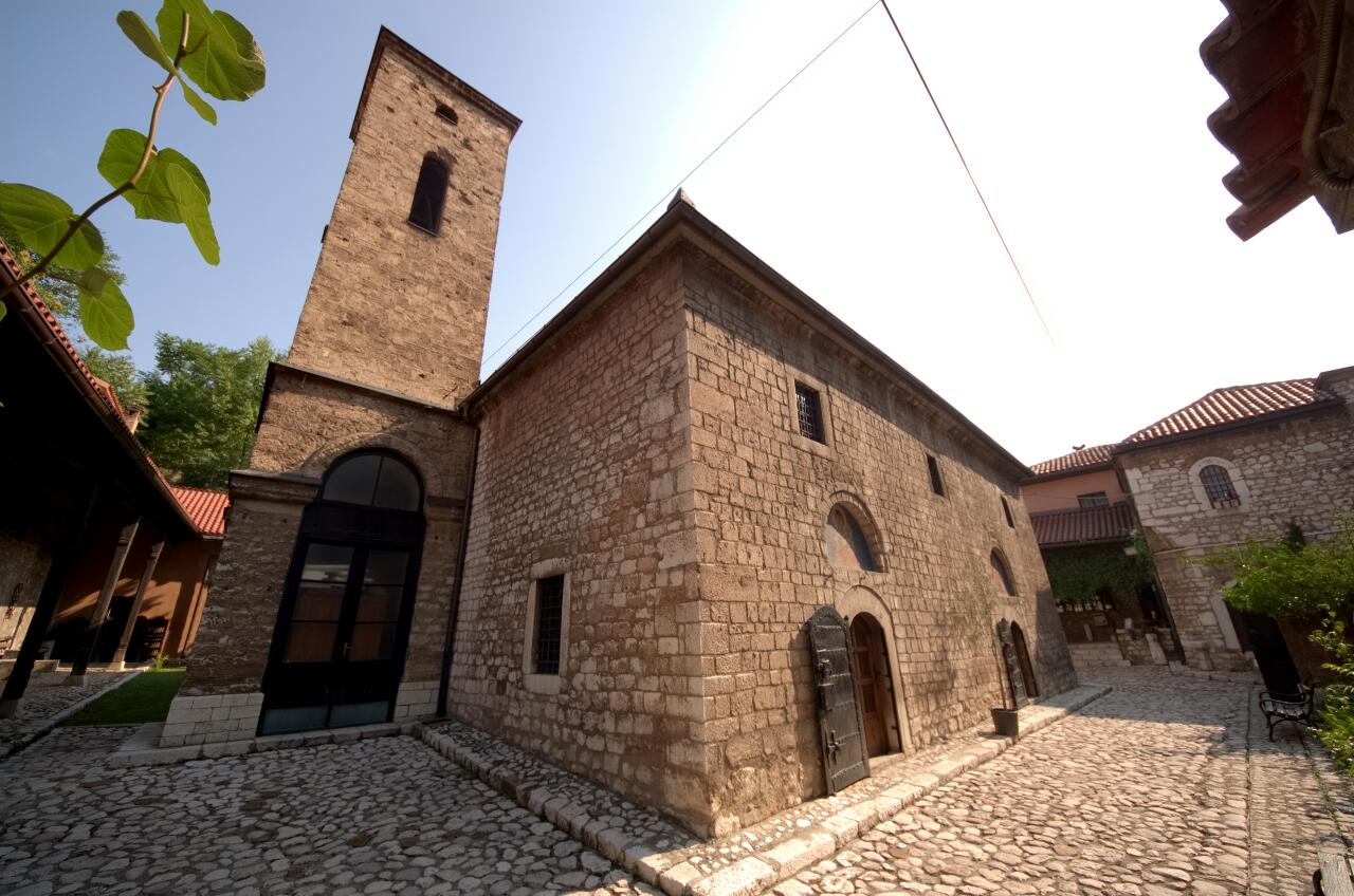 The oldest orthodox church in Sarajevo, dated back at least 900 years.