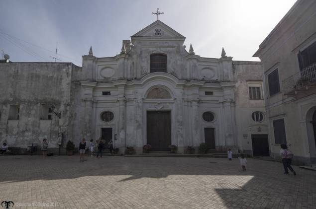 Church of San Michele Arcangelo in AnaCapri