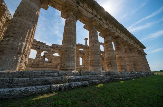 Main temple in Paestum