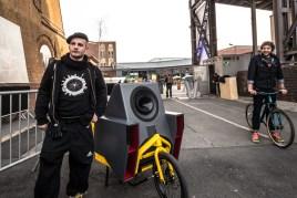 Klara Geist's big one at Station Berlin, just before the Music Ride 2015