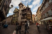 "Colmar really is this fairytale French village, where you always wait for someone to scream ""cut"" and collapse all the props."