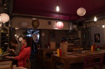 L'atelier grand pere in Strasbourg, a really cool burger bar - in France of all places.