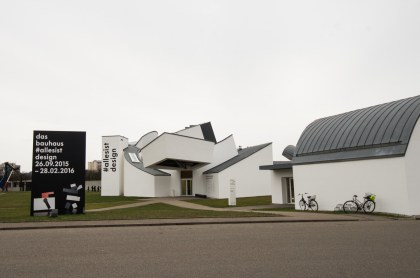 The Gehry dseigned Vitra Design Museum in Weil am Rhein.