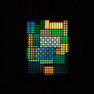 Colour palette from the Bauhaus era inside Vitra Design Museum