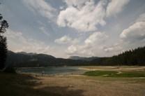 Black lake in Montenegro, Crna Jezero