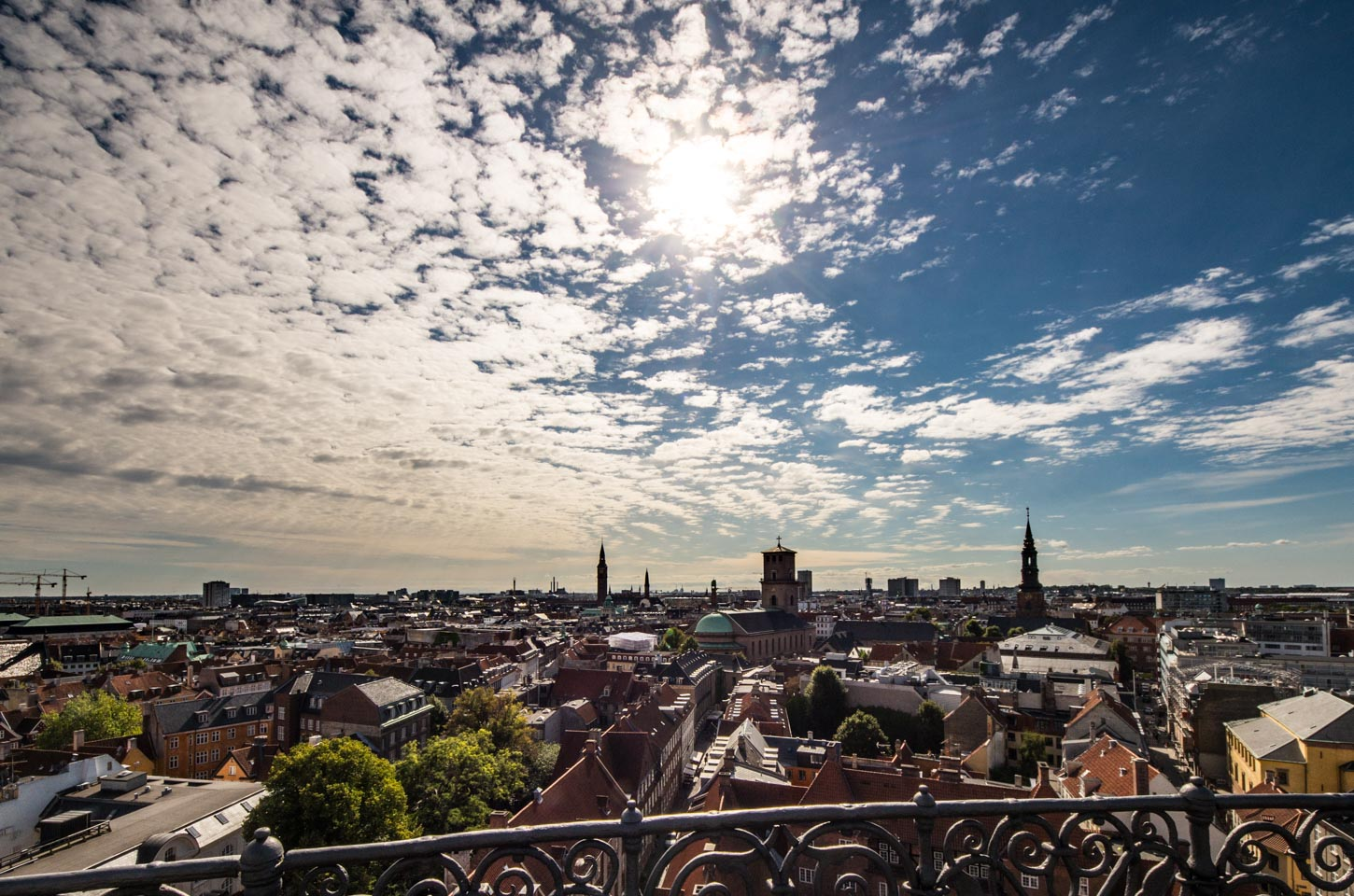 Panorama of Copenhagen