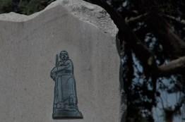memorial for fallen soldiers of WW II atop San Giusto