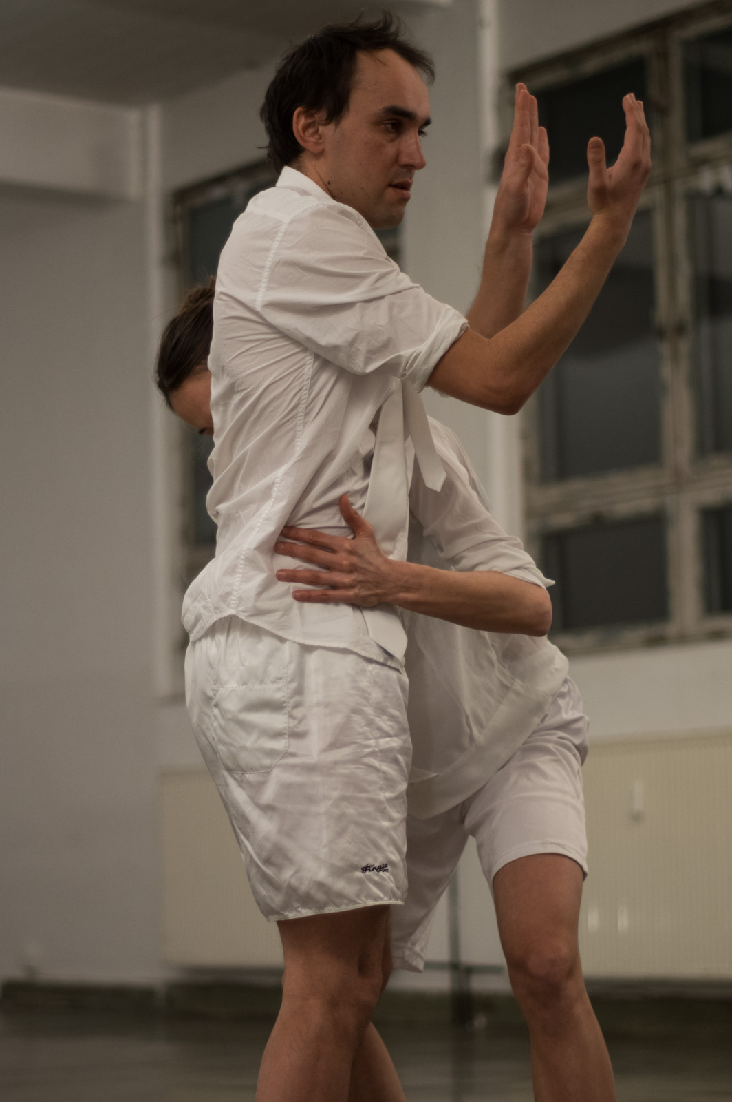 Performance by Anna Massoni and Vincent Weber.