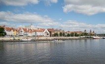 The beautiful old-town of Szczecin with the pommeranian castle. Reminded me a bit about Copenhagen.