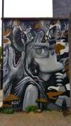 Mural by street artist ELLE in London