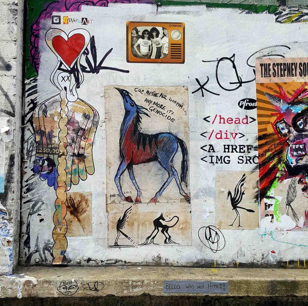 PasteUps by Jonesy in London