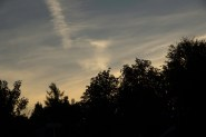 Morning sky, just before sunset