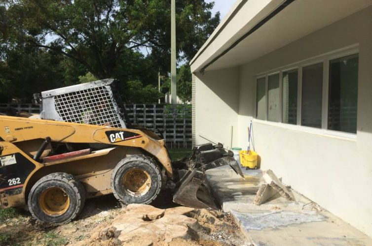 Rear Patio Replacement Project