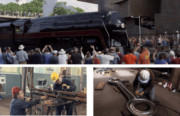 Using the latest in HD technology, our experienced film crew spent two years capturing footage of 611 you will see nowhere else. Available in DVD and BluRay! Both include crew commentary and bonus restoration footage.