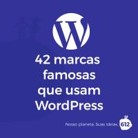 42 marcas famosas que usam WordPress