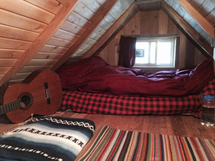 John and Bud were very happy living together in their cozy loft.