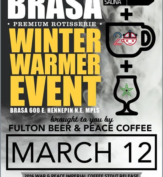 Winter Warmer @Brasa NE
