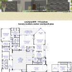 Luxury Modern Courtyard House Plan 61custom Contemporary Modern House Plans