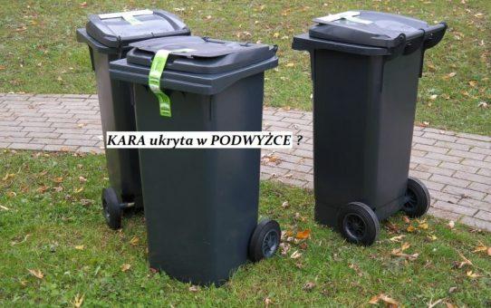Opłata za odpady segregowane wzrośnie o 40%