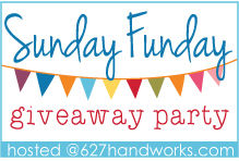 Sunday Funday Giveaway Party