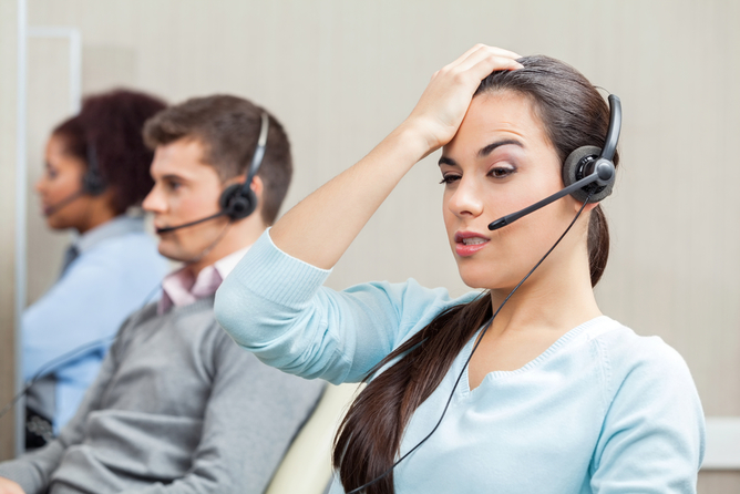 Don't call us, we'll call you! Tyler Olson/shutterstock