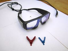 Eye-tracking spectacles can be relatively compact. Anatolich1, CC BY-SA