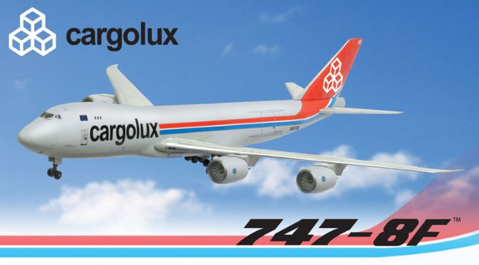 55923 Cargolux 747 8f Dragon Wings Airliners