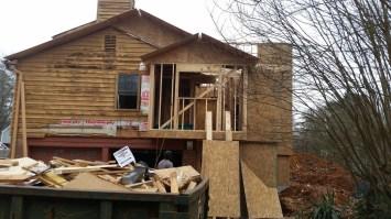 Roof decking beginning