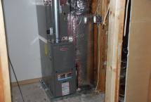 New air handling unit for second floor