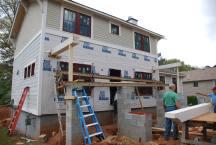 Front porch framing starting