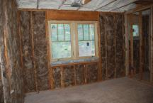 Front right Bedroom with insulation